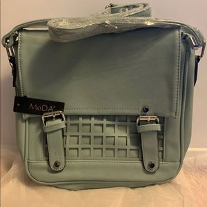 MoDA New York Crossbody Bag Glacier Gray